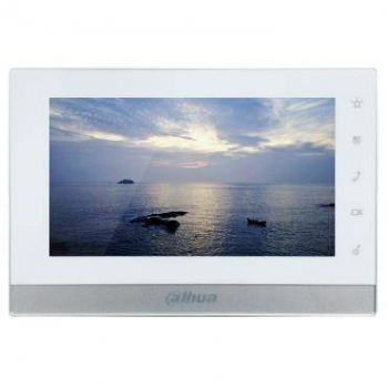 IP монитор для видеодомофона Dahua DHI-VTH1550CH 7 дюймов, 10/100mb, 6 тревожных входов, поддержка PoE, поддержка SD карт.