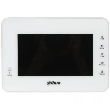 IP монитор для видеодомофона Dahua DHI-VTH1560BW 7 дюймов, 8 тревожных входов, поддержка PoE, поддержка SD карт