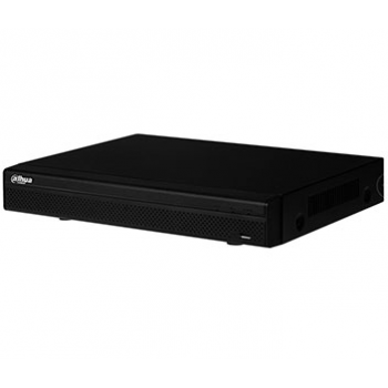 4-х канальный HDCVI видеорегистратор DAHUA DHI-XVR4104HS-S2 720р, HDCVI+AHD+TVI+IP+PAL960H, 1xHDD до 8Тб, поддержка перед. звука через коакс. кабель