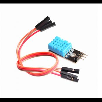 DHT11, датчик влажности и температуры с проводами