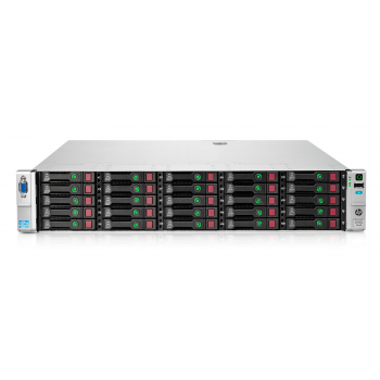 Сервер HP Proliant DL380p Gen8, 2 процессора Intel Xeon 6C E5-2640, 32GB DRAM, 25SFF, P420i/1GB FBWC