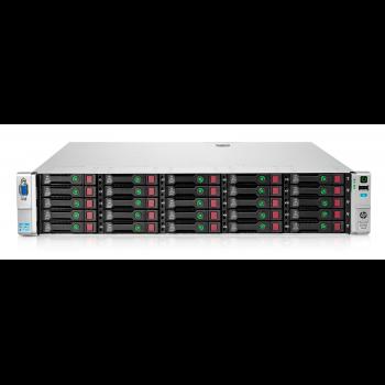 Сервер HP Proliant DL380p Gen8, 2 процессора Intel Xeon 6C E5-2640, 32GB DRAM, 25SFF, P420i/1GB FBWC