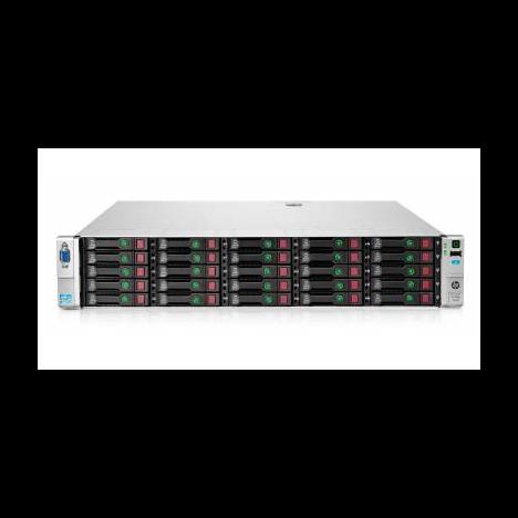 Сервер HP Proliant DL380p Gen8, 2 процессора Intel Xeon 10C E5-2680v2, 64GB DRAM, 25SFF, P420i/1GB FBWC