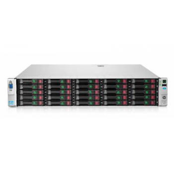 Сервер HP Proliant DL380p Gen8, 2 процессора Intel Xeon 10C E5-2680v2, 64GB DRAM, 25SFF, P420i/1GB FBWC