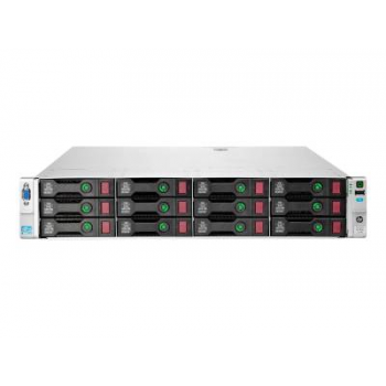 Сервер HP Proliant DL380p Gen8, 1 процессор Intel Xeon 10C E5-2660v2, 16GB DRAM, 12LFF, P420i/1GB FBWC