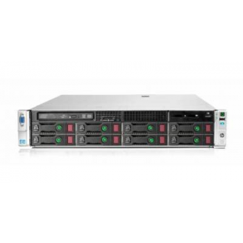 Сервер HP Proliant DL380p Gen8, 1 процессор Intel Xeon 10C E5-2660v2, 16GB DRAM, 8LFF, P420i/1GB FBWC