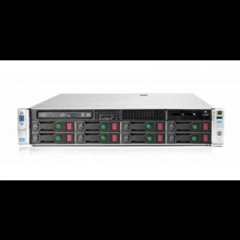 Сервер HP Proliant DL380p Gen8, 1 процессор Intel Xeon 10C E5-2660v2, 16GB DRAM, 8LFF, P420i/1GB FBWC