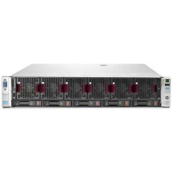 Сервер HP Proliant DL560 Gen8, 4 процессора Intel Xeon 8C E5-4620, 96GB DRAM, 5SFF, P420i/1GB FBWC