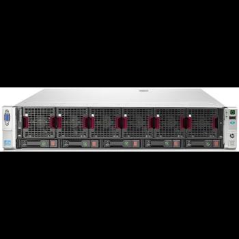 Сервер HP Proliant DL560 Gen8, 4 процессора Intel Xeon 8C E5-4620, 96GB DRAM, 5SFF, P420i/1GB FBWC