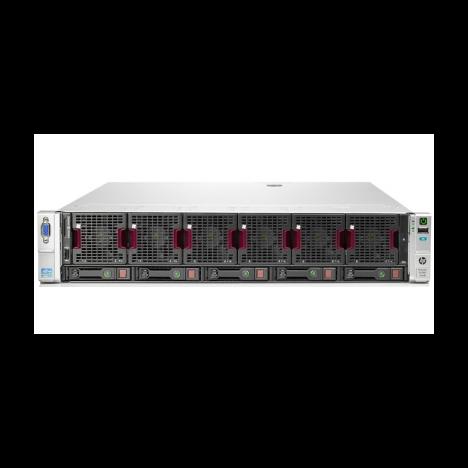 Сервер HP Proliant DL560 Gen8, 4 процессора Intel Xeon 12C E5-4657Lv2, 192GB DRAM, 5SFF, P420i/1GB FBWC
