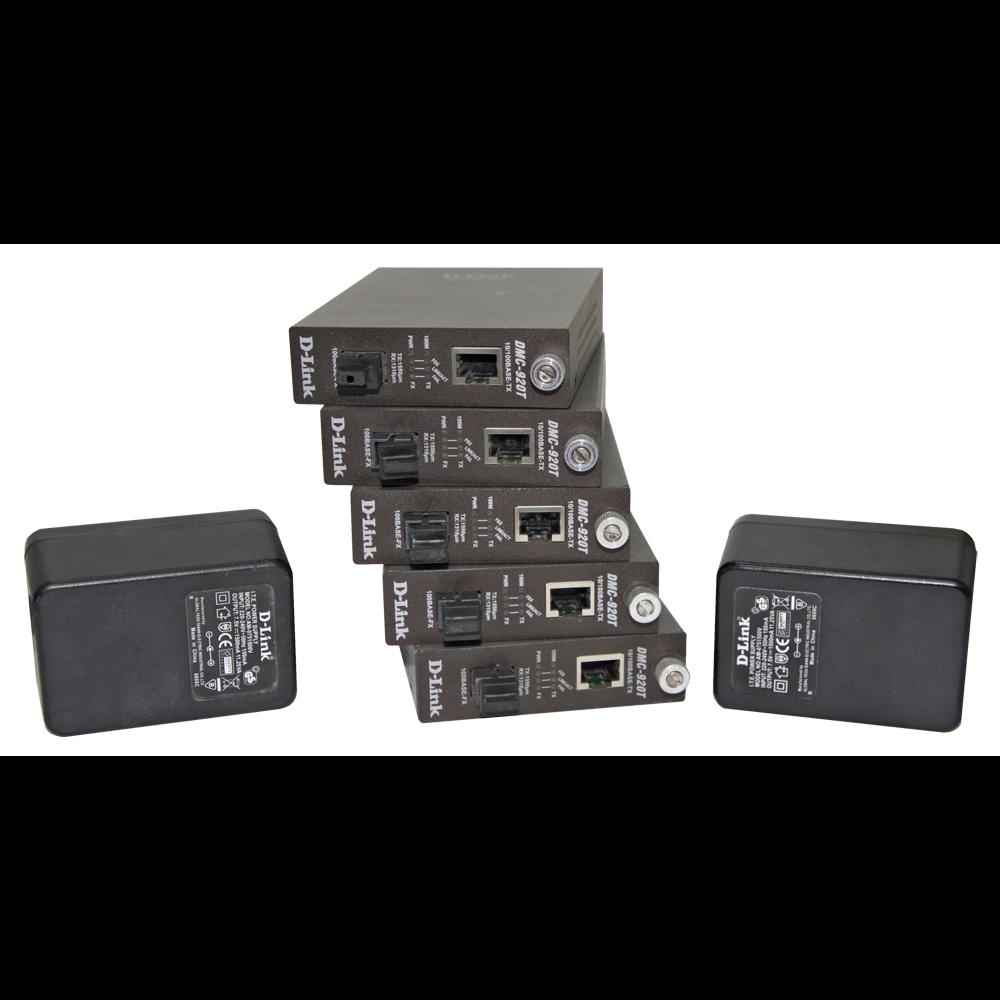 Медиаконвертер DMC-920T(с) -5шт.