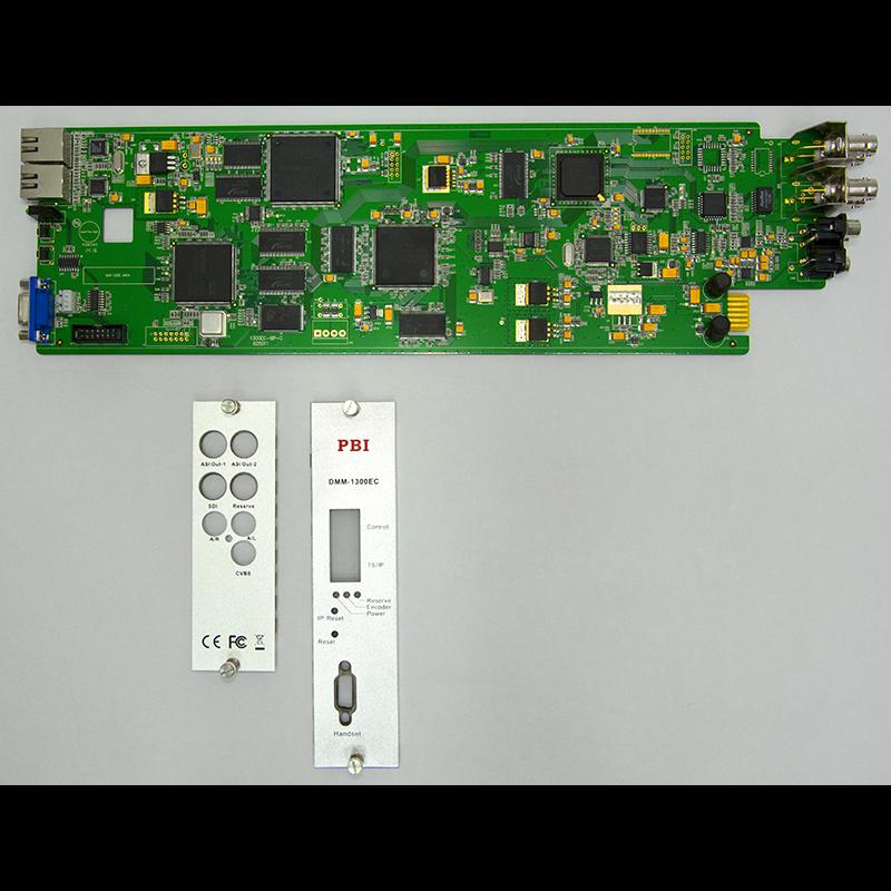 Модуль MPEG2 real-time encoder PBI DMM-1300EC-40 для цифровой ГС PBI DMM-1000