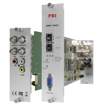 Модуль MPEG2 real-time encoder PBI DMM-1300EC-40 для цифровой ГС PBI DMM-1000