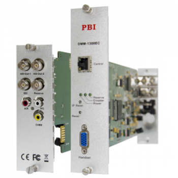 Модуль MPEG2 real-time encoder PBI DMM-1300EC для цифровой ГС PBI DMM-1000