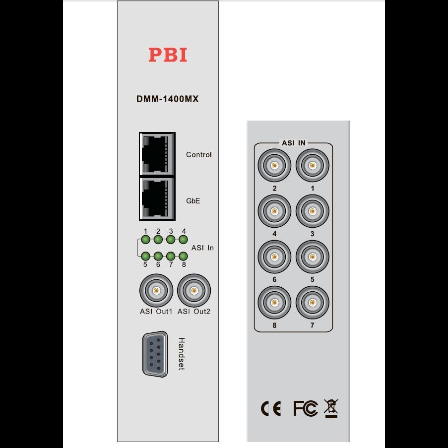 Модуль мультиплексора PBI DMM-1300MX для цифровой ГС PBI DMM-1000 (некондиция, не работает 1 ASI порт)