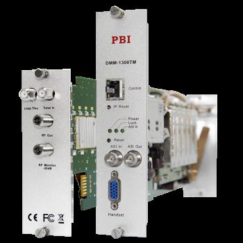 Модуль трансмодулятора QAM DMM-1300TM-S2C для цифровой ГС PBI DMM-1000