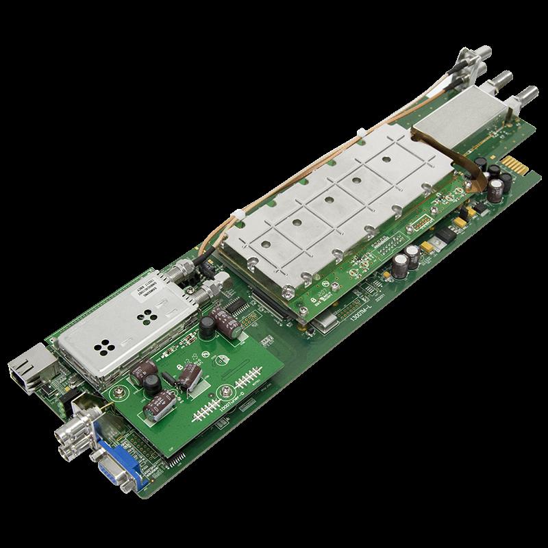 Модуль трансмодулятора QAM DMM-1300TM-TC для цифровой ГС PBI DMM-1000