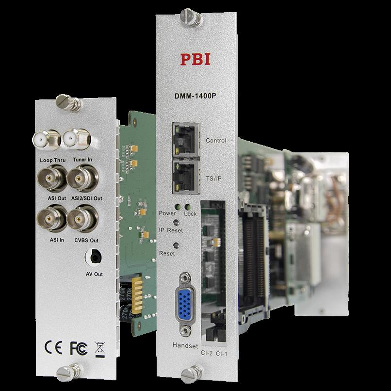 Модуль профессионального IRD приемника PBI DMM-1400P-32IP-T для цифровой ГС PBI DMM-1000 (некондиция)