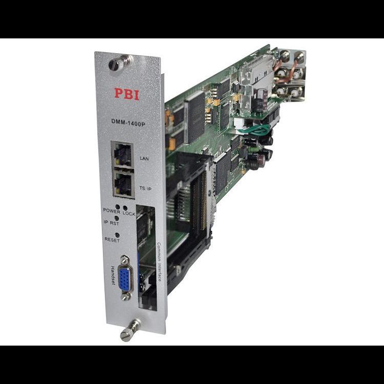 Модуль профессионального IRD приемника PBI DMM-1400P-S2 для цифровой ГС PBI DMM-1000 Б/У