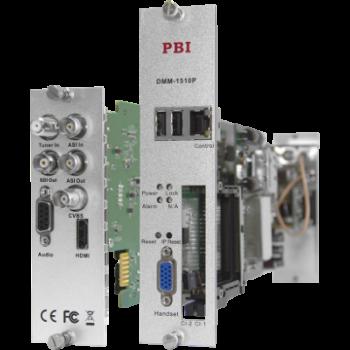 Модуль профессионального IRD приемника PBI DMM-1510P-20S2 для цифровой ГС PBI DMM-1000