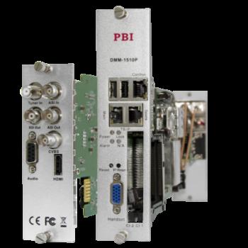Модуль профессионального IRD приемника PBI DMM-1510P-22T2 для цифровой ГС PBI DMM-1000