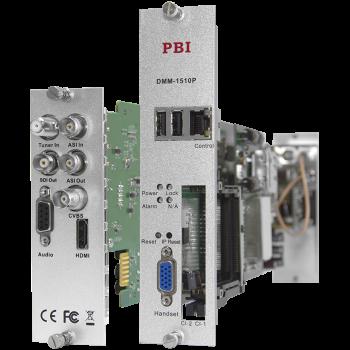 Модуль профессионального IRD приемника PBI DMM-1510P-30S2 для цифровой ГС PBI DMM-1000