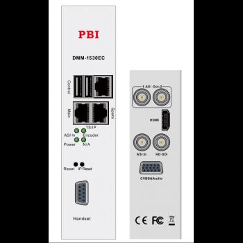 Модуль MPEG4 SD/HD encoder 2 audio IP выход PBI DMM-1530EC-42