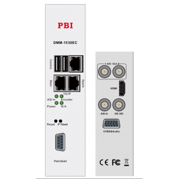 Модуль MPEG4 SD/HD encoder 2 audio IP выход PBI DMM-1530EC-42