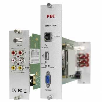 Модуль двойного аналогового модулятора PBI DMM-1701M-04