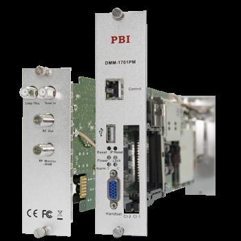 Модуль профессионального DVB-S/S2 приёмника и двойного аналогового модулятора PBI DMM-1701PM-04S2
