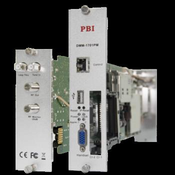 Модуль профессионального DVB-T2 приёмника и двойного аналогового модулятора PBI DMM-1701PM-04T2