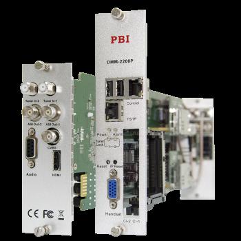 Модуль профессионального SD/HD приёмника PBI DMM-2200P-S2 для цифровой ГС PBI DMM-1000 (некондиция)