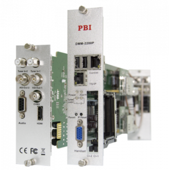 Модуль профессионального SD/HD приёмника PBI DMM-2200P-T/T2 для цифровой ГС PBI DMM-1000
