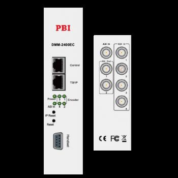 Модуль 4х канального H.264 HD/SD кодера/траснкодера PBI DMM-2410EC-S для цифровой ГС PBI DMM-1000
