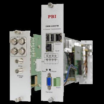 Модуль 4х-канального QAM модулятора PBI DMM-2410TM-30AC для цифровой ГС PBI DMM-1000