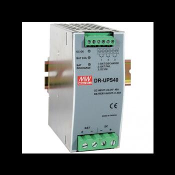 DR-UPS40 Контроллер аккумулятора системы бесперебойного питания на DIN рейку 24В, 40А Mean Well