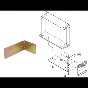 Угольник для монтажа источников питания в корпусе на DIN-рейку