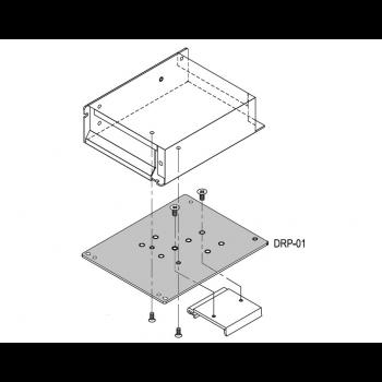 Пластина для монтажа источников питания в корпусе на DIN-рейку