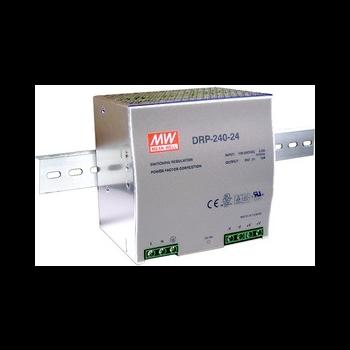 DRP-240-24 Блок питания на DIN-рейку, 24В, 10А, 240Вт Mean Well