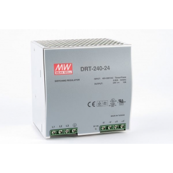 DRT-240-24 Блок питания на DIN-рейку, 24В, 10А, 240Вт Mean Well