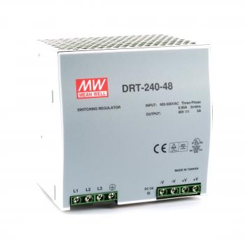 DRT-240-48 Блок питания на DIN-рейку, 48В, 5А, 240Вт Mean Well