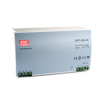 DRT-480-48 Блок питания на DIN-рейку, 48В, 10А, 480Вт Mean Well