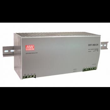 DRT-960-24 Блок питания на DIN-рейку, 24В, 40А, 960Вт Mean Well