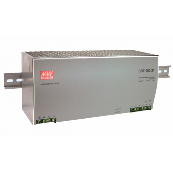 DRT-960P-24 Блок питания на DIN-рейку, 24В, 40А, 960Вт Mean Well
