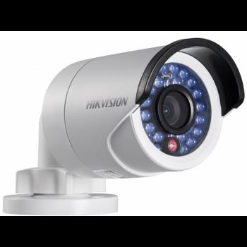 Уличная мини IP-камера DS-2CD2032-I, 3Мп,4мм,12V/PoE,ИК подсветка до 30м, с кронштейном.