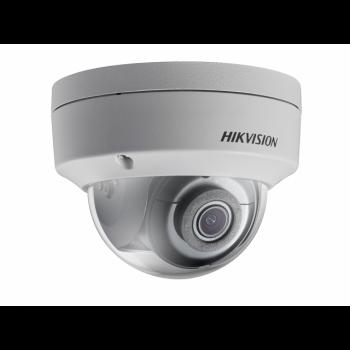 Уличная купольная IP-камера DS-2CD2123G0-IS (4mm), 2Мп, 4мм, 12V/PoE, ИК-подсветка до 30м, microSD до 128Гб, WDR 120дБ