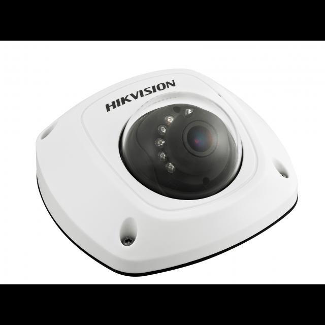 Миникупольная IP-камера DS-2CD2512F-IS, 1,3Мп,4мм,12V/PoE,ИК подсветка до 10м, встроенный микрофон.