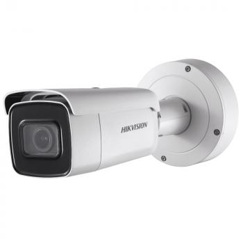 Уличная цилиндрическая IP-камера DS-2CD2623G0-IZS, 2Мп, мотор. объектив 2.8-12мм, 12V/PoE, ИК-подсветка до 50м, microSD до 128Гб, WDR 120дБ