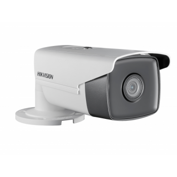 IP-камера Hikvision DS-2CD2T43G0-I8 (2.8mm), 4Мп, объектив 2.8мм, DC12В/PoE, WDR 120дБ, ИК до 80м, IP67
