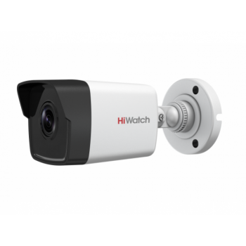 Уличная цилиндрическая IP-камера DS-I200 (C) (2.8mm), 2Мп, фикс. объектив 2.8мм, ИК до 30м, DWDR, DC12В/PoE, IP67